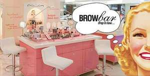 Free Birthday Eyebrow Wax from Benefit @ Debenhams