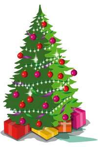 Half price Christmas trees and lights sale at Argos
