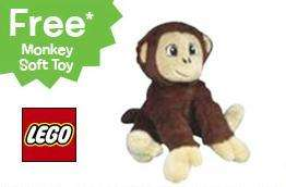 Free Lego Duplo Cuddly Monkey when you spend £25 on Duplo @Toys R Us