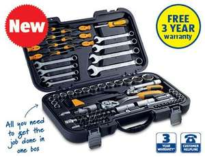 95 Piece Wrenches and Sockets Set for £39.99 @Aldi