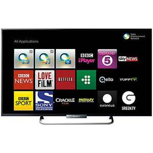 "Sony Bravia KDL42W653 LED HD 1080p Smart TV, 42"" with Freeview HD With 5 year guarantee £499 @ John Lewis"