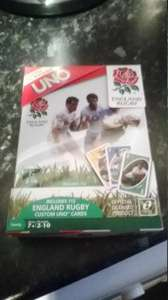 UNO Card Game - England Rugby Series (Steel Tin) 99p @ Quality Save