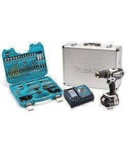 Makita DHP456RMWX [+ P90364] 18v Li-ion 4.0Ah White Combi Drill + 105 Pce Accessory Set, £158.99 @ Lawson HIS