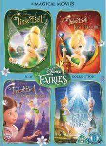 Tinker Bell - 4 Movie Box Set - Sainsburys £14.00 - DVD