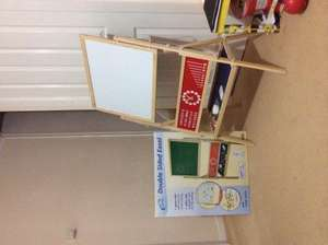 Double sided easel - ALDI Reading - £19.99
