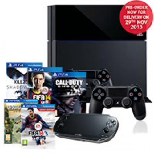 PS4 Mega Bundle £750 @ Costco