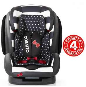 Cosatto Hug 123 car seat rrp£220 - Boots.com for £127 using code (£96 if you include £31 boots points back)