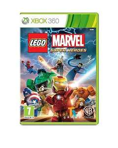LEGO Marvel Super Heroes XBox 360 & PS3 ASDA Direct