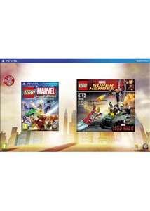 LEGO Marvel Super Heroes Video Game Gift Pack - Iron Man 3 Playset Edition (PS VITA) £36.99 Delivered @ Base (PS3/Xbox £39.99)