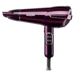 BaByliss 5560GU 2100W Elegance Hair Dryer  Half price £14.50 @ Tesco Direct