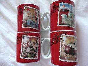 wallace ad gromit royal mail chrismas mugs £1 at pound empire