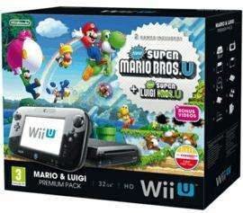 Wii U Mario and Luigi Premium Pack with Wii Sports Bowling, Wii Sports Tennis and 30 Day Wii U Karaoke Trial Download £219.99 Delivered @ Game (Online & Instore)