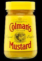 Colman's Mustard 170g £1.54 @ most supermarkets (potentially FREE with ClickSnap and Shopitize)
