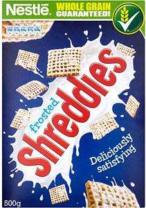 500g Nestle Frosted Shreddies £1 @ ASDA