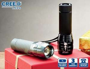 5W Cree LED Torch £11.99 at Aldi from Sunday 17th November