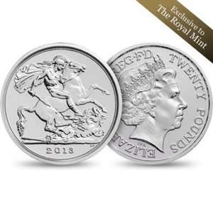 Limited edition £20 coin deal - plus Free £15 with very little effort! @ royalmint