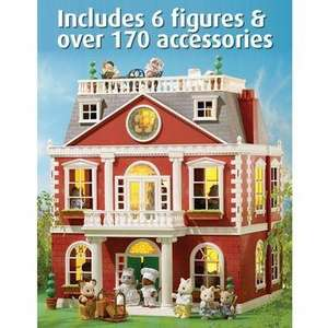 Sylvanian families hotel with furniture £109.99 at smyths toystore