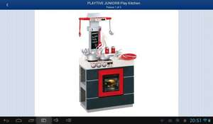 Playtive Junior Play Kitchen £26.99 @ Lidl