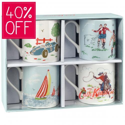 Set of 4 Cath Kidston mugs £8 (was £20)  @ Cath Kidston