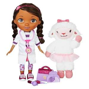 Doc McStuffins Time For Your Check Up Doll and Lambie £26.66 at John Lewis