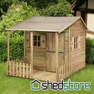 5' x 6'9 (1.52x2.05m) Play-Plus Parsley Cottage Playhouse £235.95 was £399.99 Free delivery also TCB 3.03% @ Shedstore