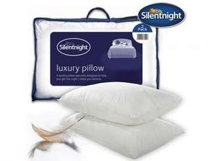 Silentnight Luxury Goose Feather Pillows on eBay/uk bedding £29.99 for 8 and Free P&P (£3.75 each!) @ UK Bedding ebay