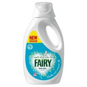 Fairy non bio liquid - 3 for £10 at Asda