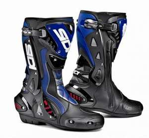 Sidi ST Motorcycle Race Boots - Bike-Gear.com - HALF PRICE! - WAS £274.99 NOW £137.49