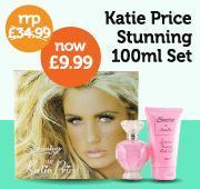 katie price stunning 100ml gift set £9.99 B&M