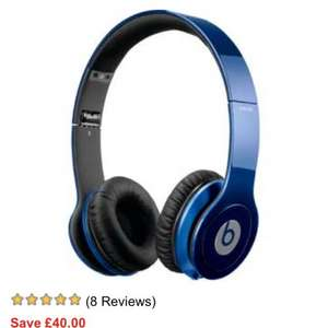 Beats by Dr. Dre Solo HD Overhead Headphones - Dark Blue £129.95  @ Argos