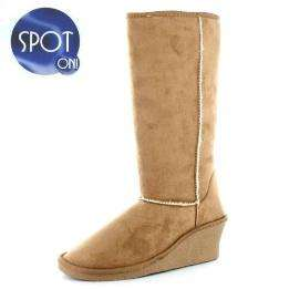 Ladies Snow Storm Tan Boots £4.49 Delivered @ Gluv Footwear