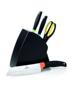 Spectrum Array 4 piece knife block £13.95 delivered from viners