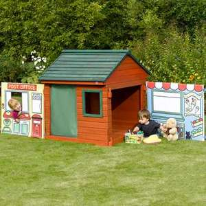 Plum® Role Play Wooden Outdoor Play House £100 from £269.99 from Plum