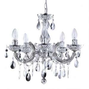 Marie Therese Dual Mount Silver Chandelier RRP £99 now £31.20 code available for extra 10% + QUIDCO