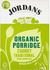 Jordan's Porridge Oats Organic Traditional Chunky (750g) now only £1.00 @ Asda