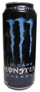 monster energy, 500ml lo carb 50p at Home bargains