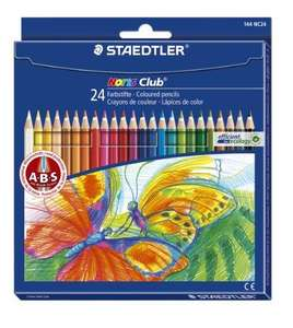 Staedtler Noris Club Colouring Pencils, 24 Pack £3.75 - was £8.50 - Amazon Add On