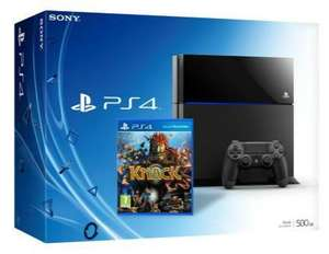 PS4 KNACK Bundle *on day of launch* for £385.00 @ Tesco Direct