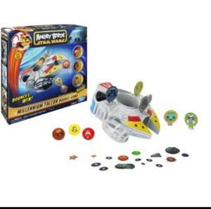 ANGRY BIRDS STAR WARS MILLENNIUM FALCON BOUNCE GAME £5.99 Home Bargains