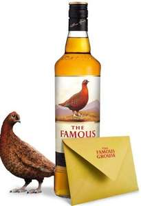 Free Famous Grouse personalised label (Printed and Delivered)