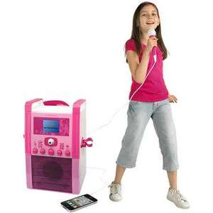 Toys R US - Pink Karaoke with screen - Half Price £84.99
