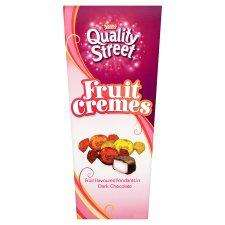 Quality Street Fruit Cremes Carton 355G Brand New out & Half Price at Tesco Online & Instore. Was £4.00 now £2.00