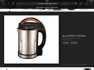 Morphy Richards Soup Maker £39.00 @ Morrisons