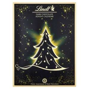 Amazing Lindt assorted dark chocolate advent calendar now £12.99 from Ocado
