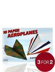 M&S 10 Paper Aeroplanes Toy Kit £1 each or 3 for £2 delivered to store