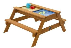 Plum 'surf side' Sand & Water wooden picnic table £24 @ Amazon