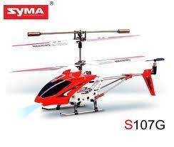Syma 2nd Edition S107G New Version Indoor Helicopter (Red) - £12.98 delivered - memorycapital/Amazon