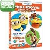 Despicable Me Minion Mini-Movie Collection DVD £3.00 delivered at Asda Direct