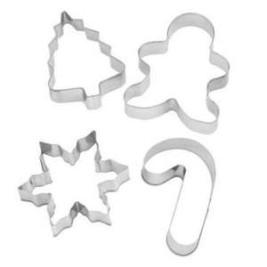Christmas Cookie Cutters (pack of 4) £1 @ Poundland