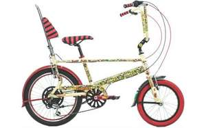 Special 75th Anniversary Edition Beano Chopper bike - £284.99 @ Bikes 2U Direct